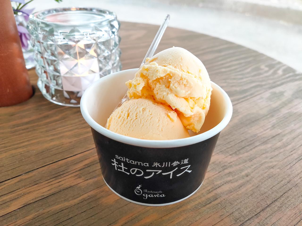 アイスの優しい甘さの中から、大吟醸の香りが広がる優雅な美味しさ