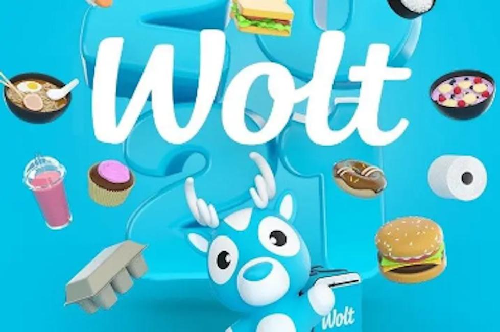 Woltのwebより、メインビジュアルも可愛くてなんかオシャレ