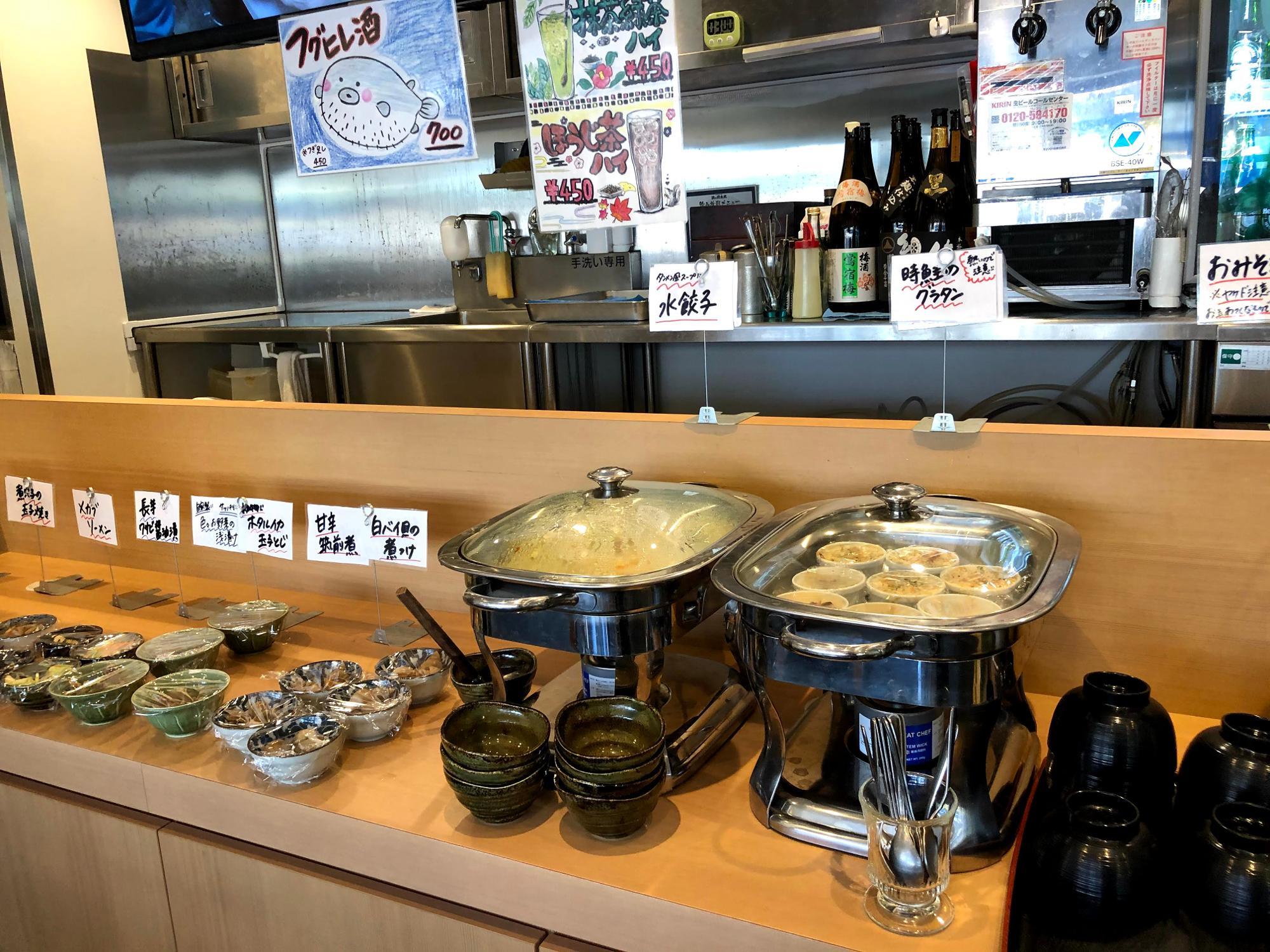 ホテルの朝の朝食を彷彿とさせるお惣菜のハーフビュッフェ