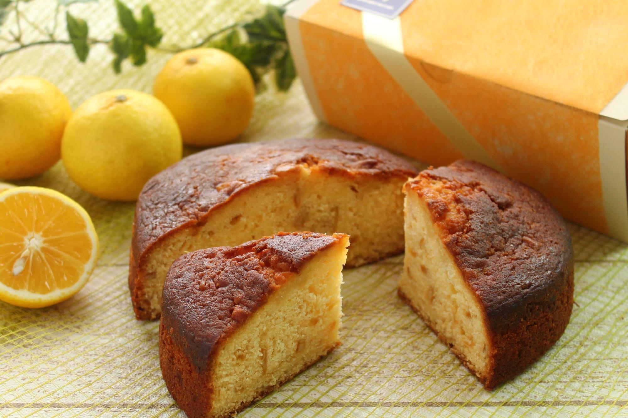 「湘南ゴールドのバターケーキ」(直径約 15cm×高さ 5cm 3,000 円)