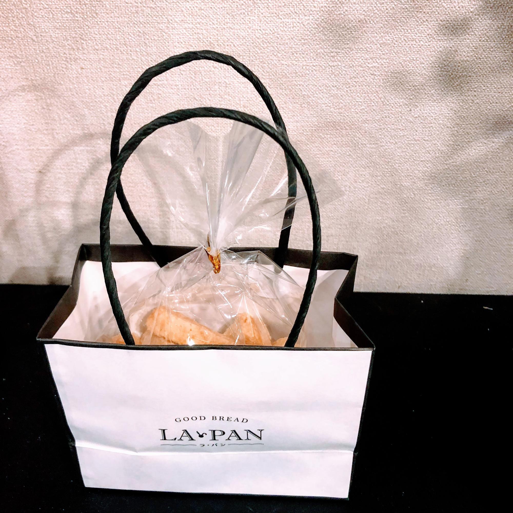 クリーミーラスク(380円)には専用の小さい紙袋があって、これも可愛い!