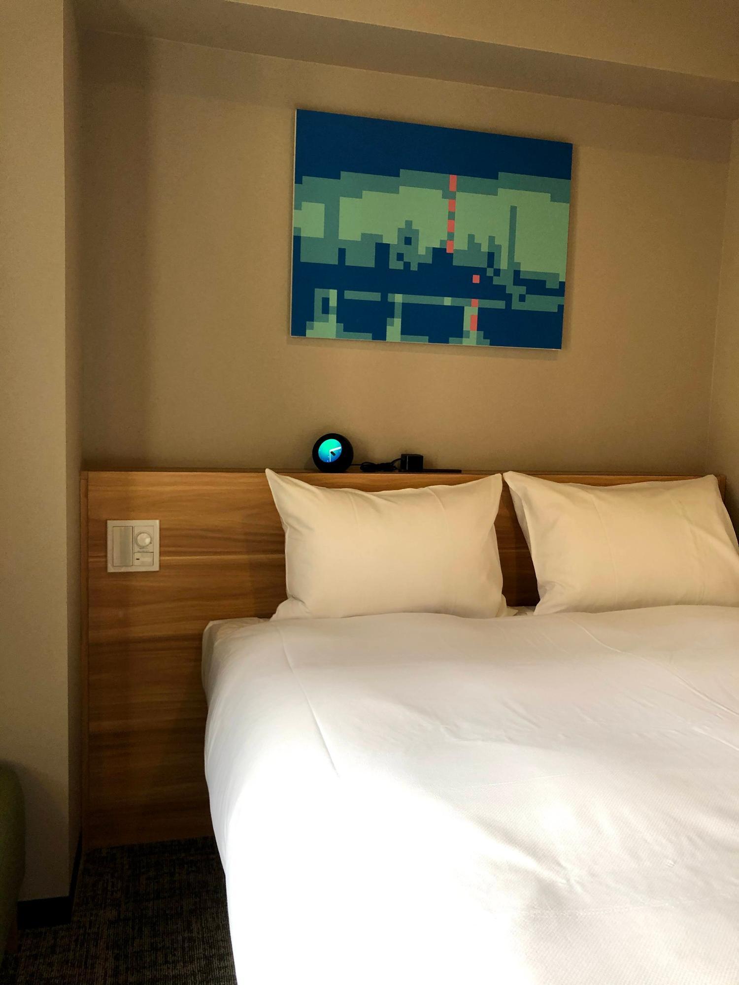 2日間にわたって取材しているので、これは302号室ではなく向かい側の部屋のベッド