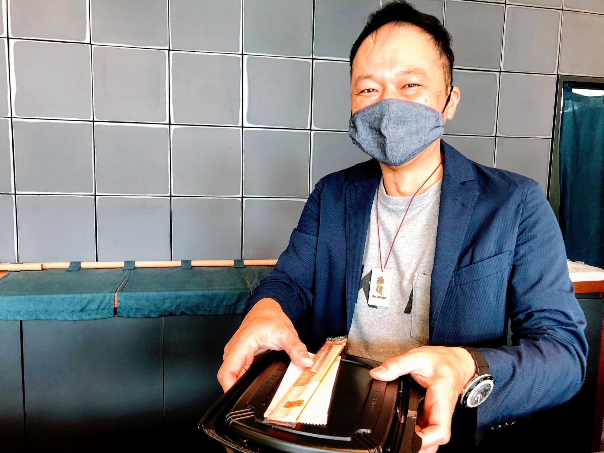ホテル縁道の支配人・吉岡明治さん
