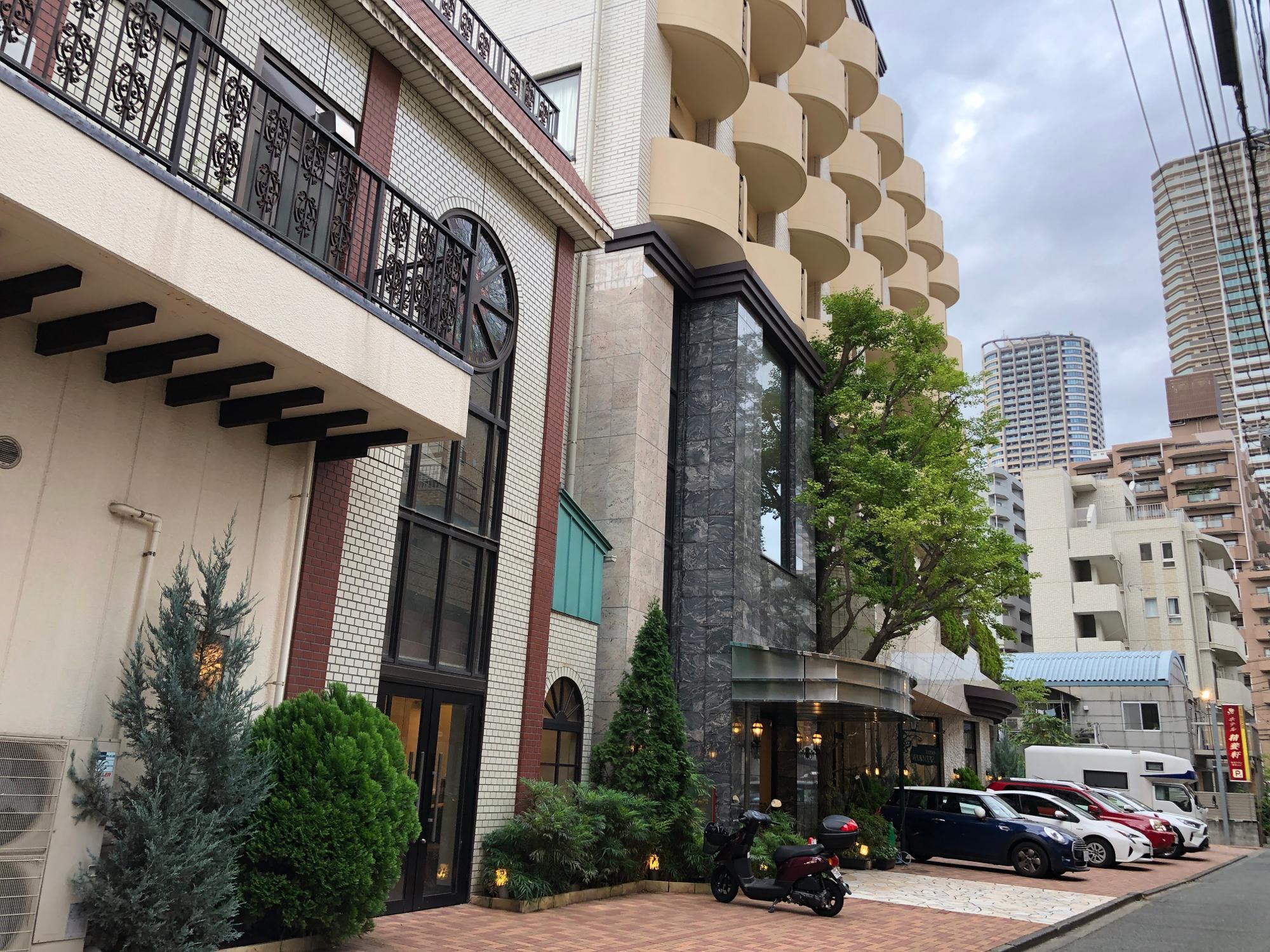 ホテル精養軒(本館)の外観
