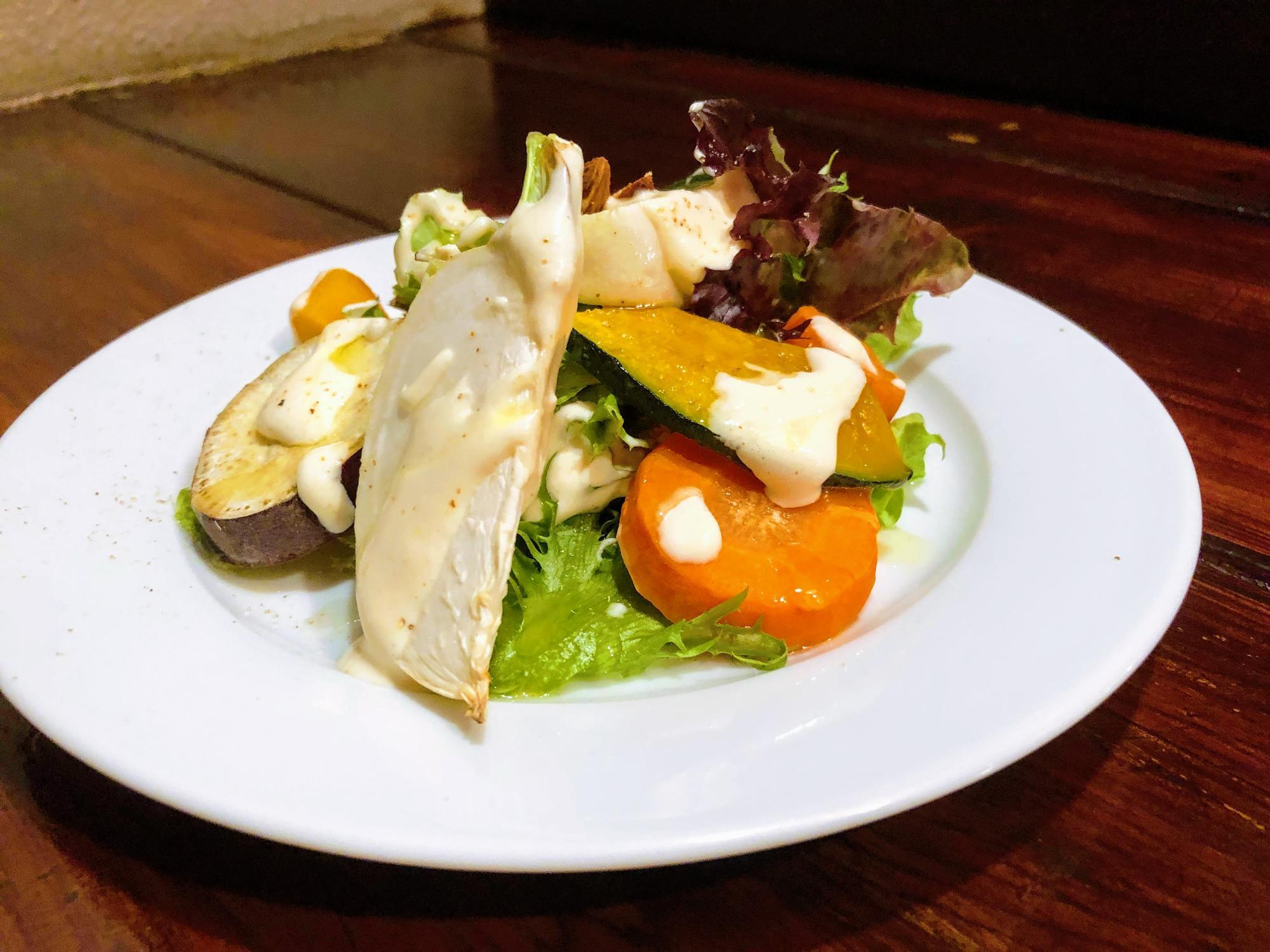 秋野菜のローストサラダ