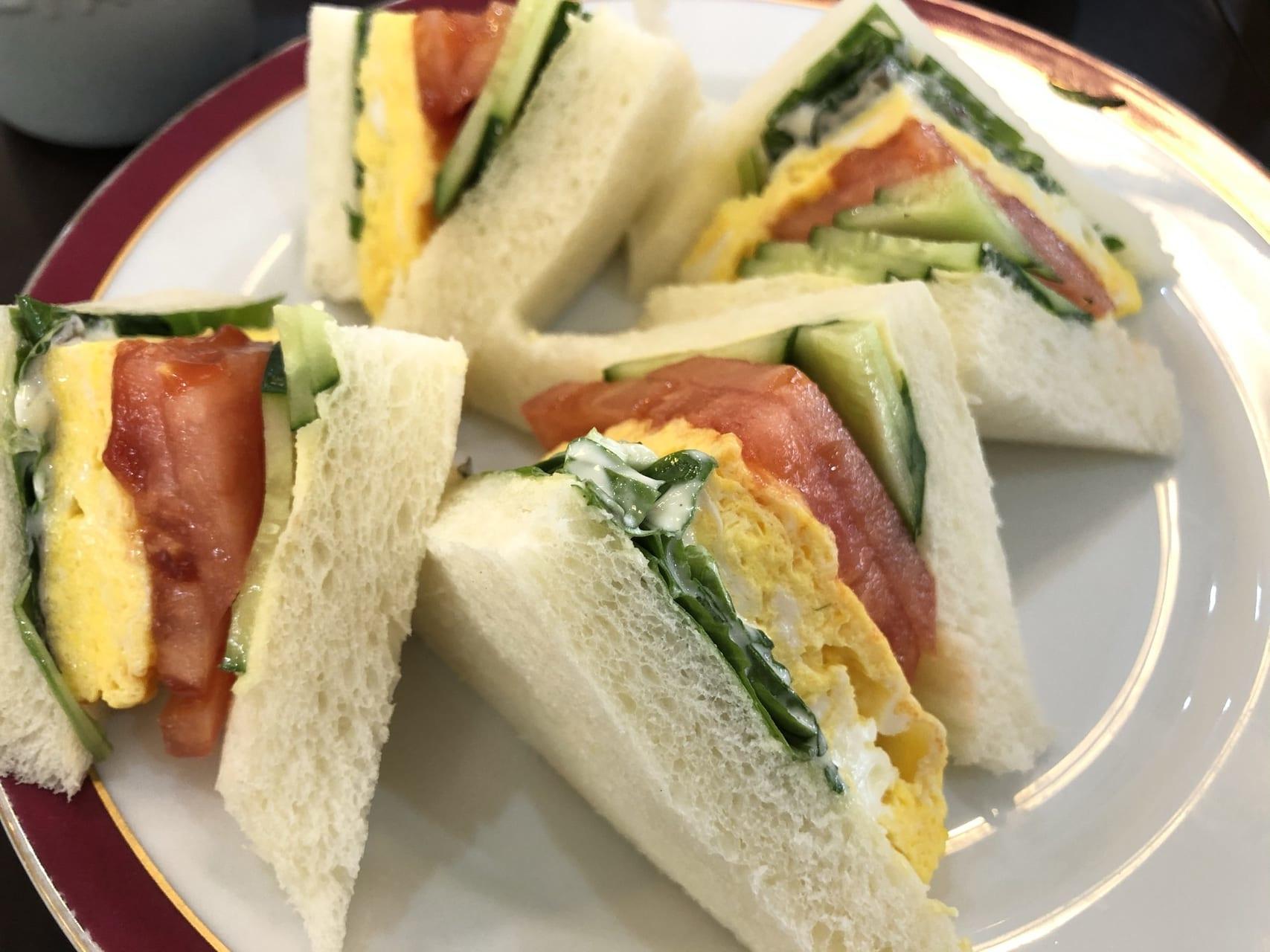 カノン珈琲サンドイッチ