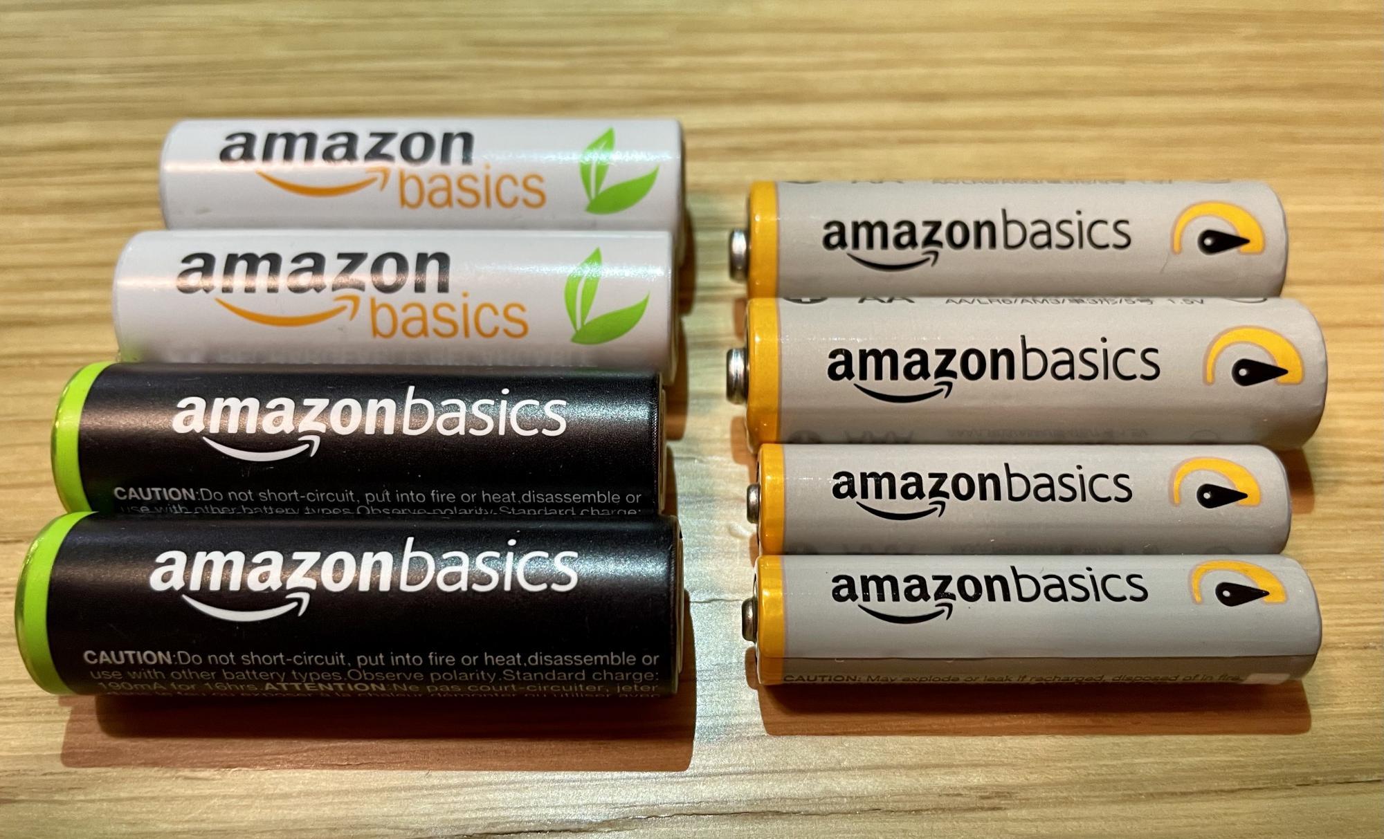 Amazon Basicsの電池はコスパ抜群