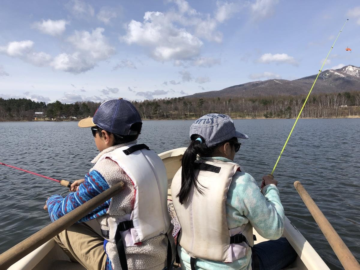 ゴールデンウィークは釣りキャンプにも絶好の季節
