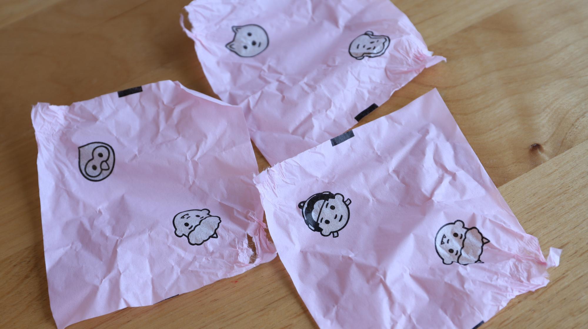 廣榮堂武田さんのきびだんご 包装紙
