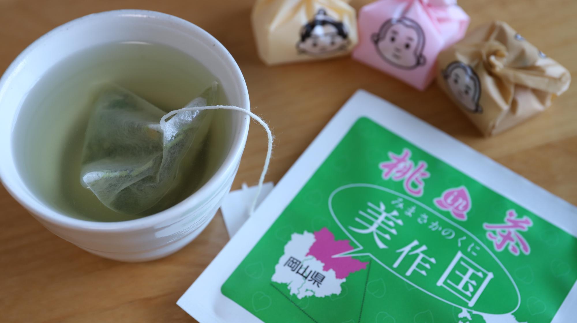 岡山の桃茶、おかやま百果