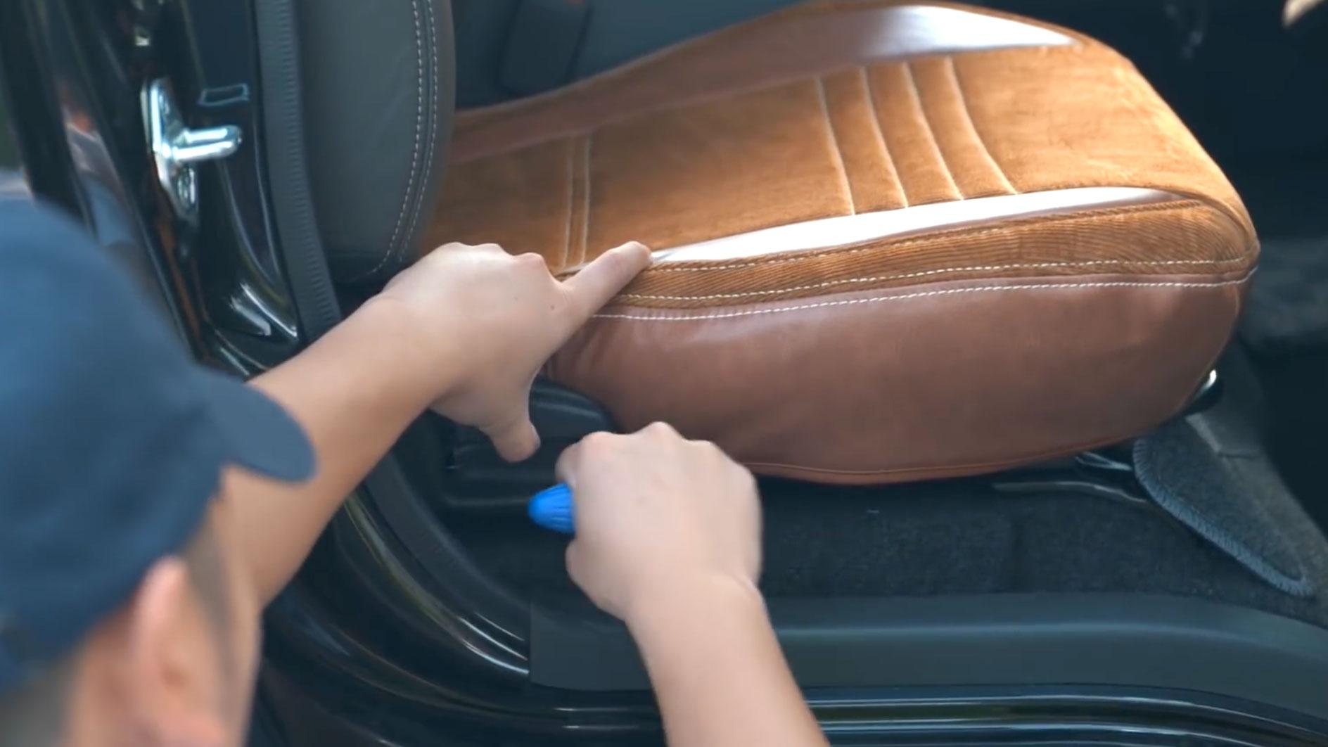 それぞれの車に合わせて細かいフィッティングが意識されて作られています