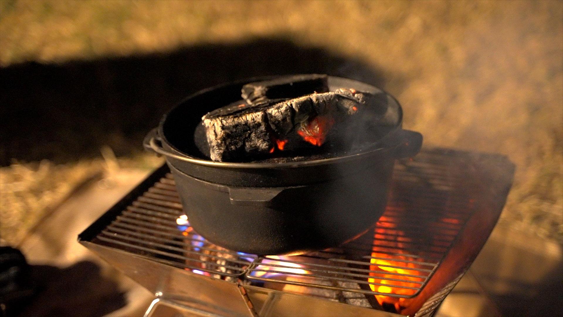 焚き火は写真くらいの火がちょうど良いです