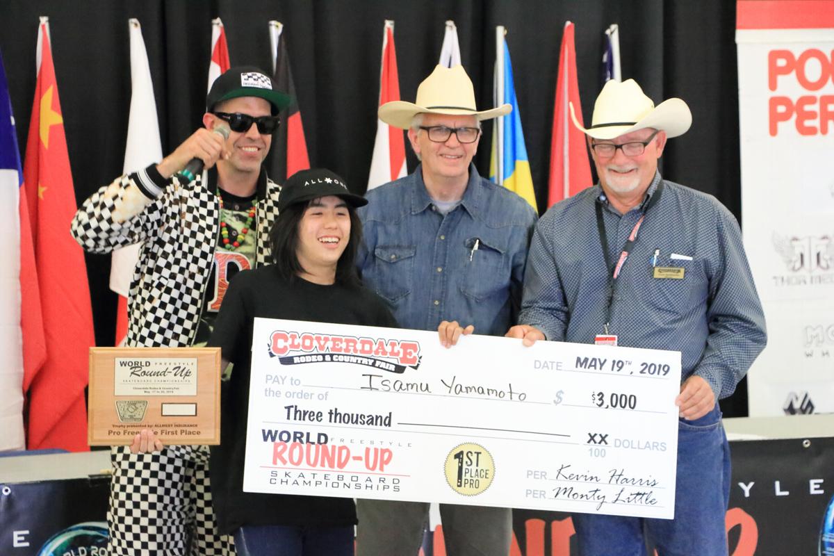 カナダで開催されたフリースタイルの世界大会で三連覇を果たしたIsamu Yamamoto
