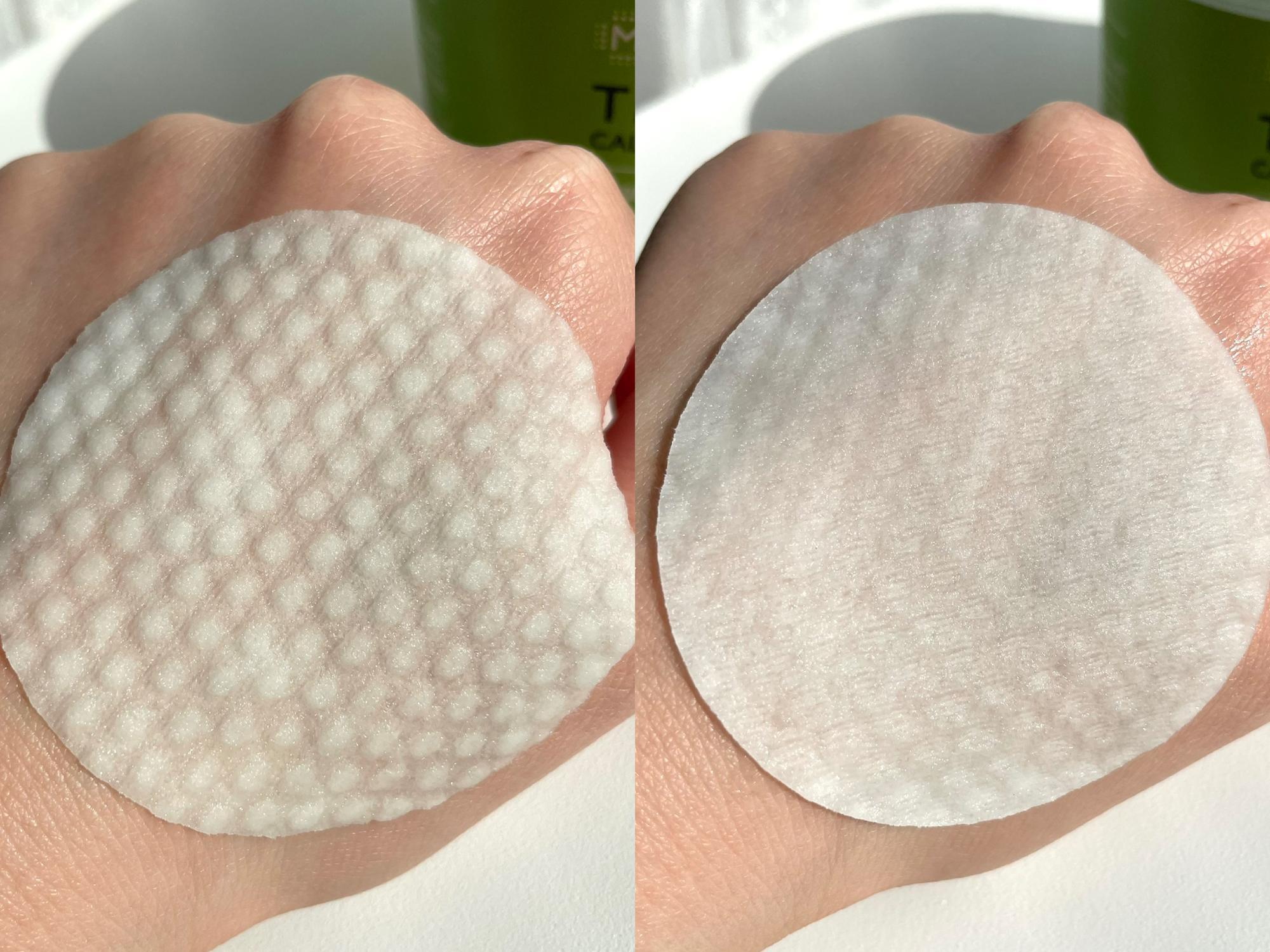 凹凸のある面が拭き取り用です!