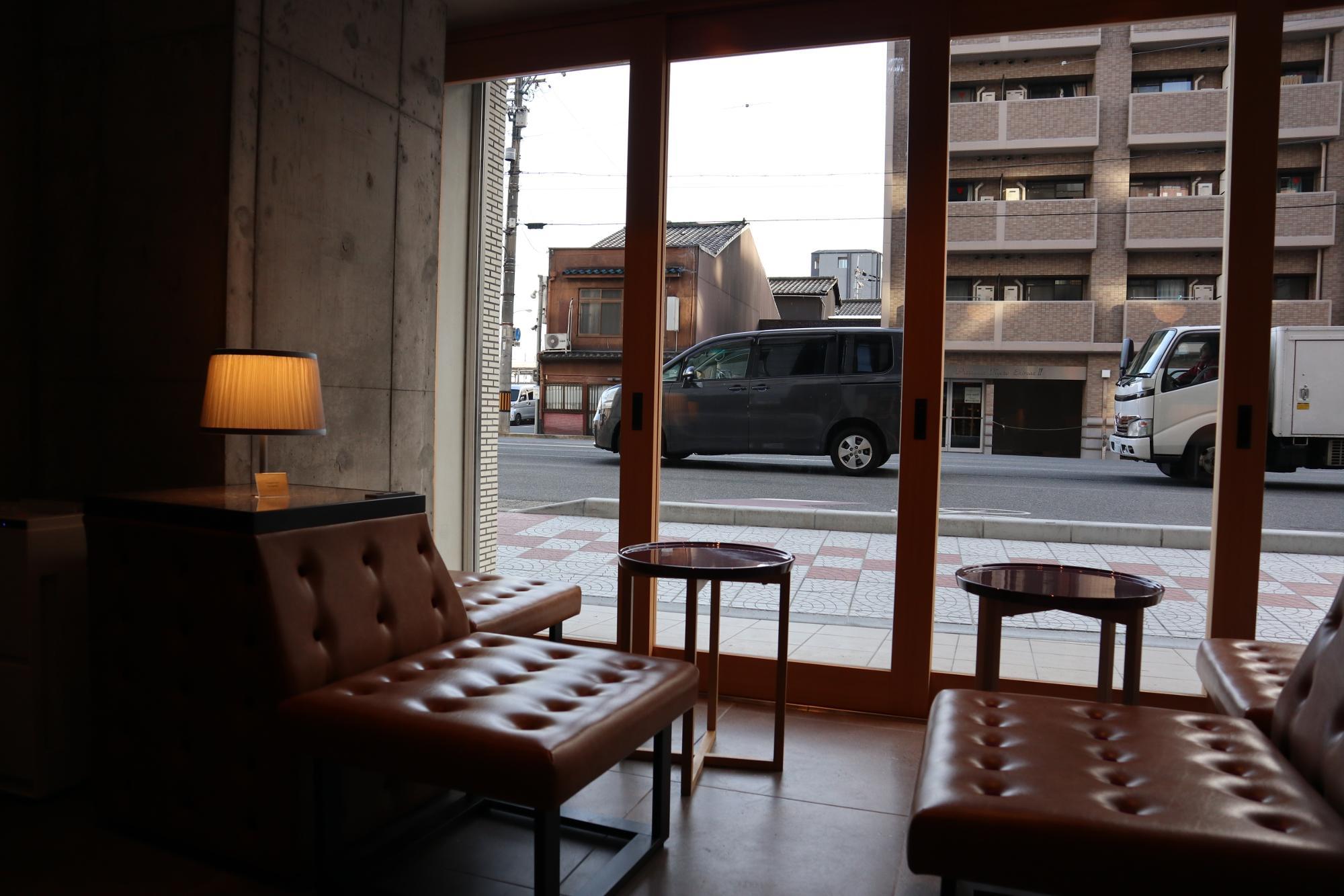 穏やかな時間がながれるカフェで