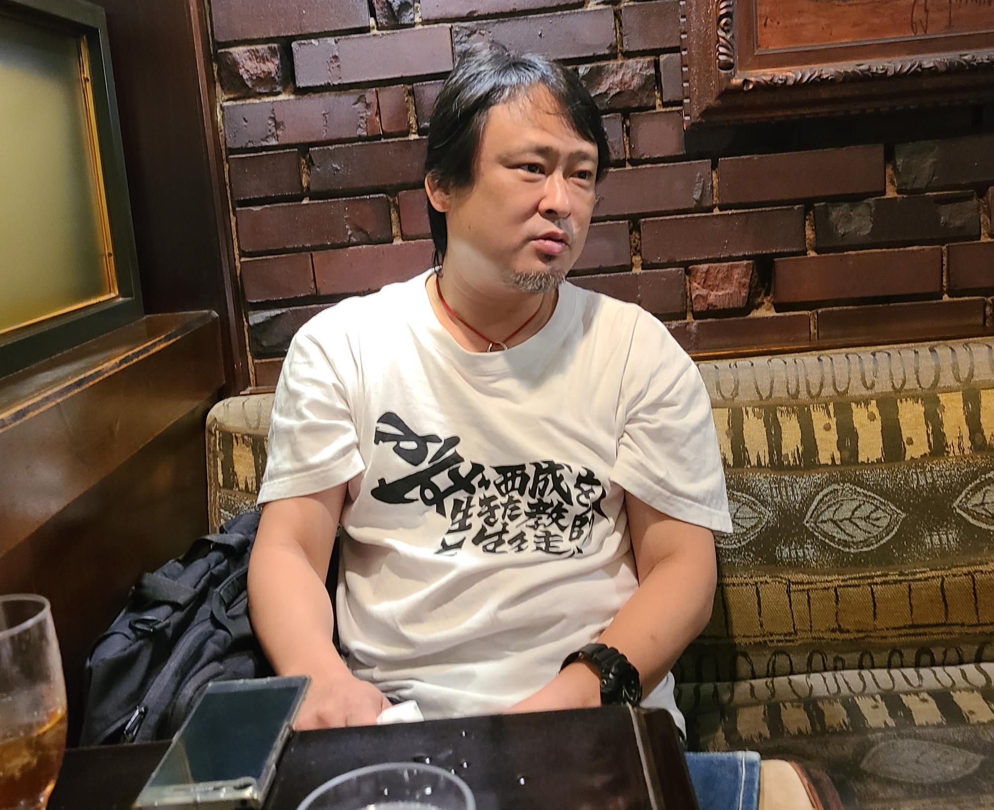熱く思いを語ってくださった川本貴弘監督