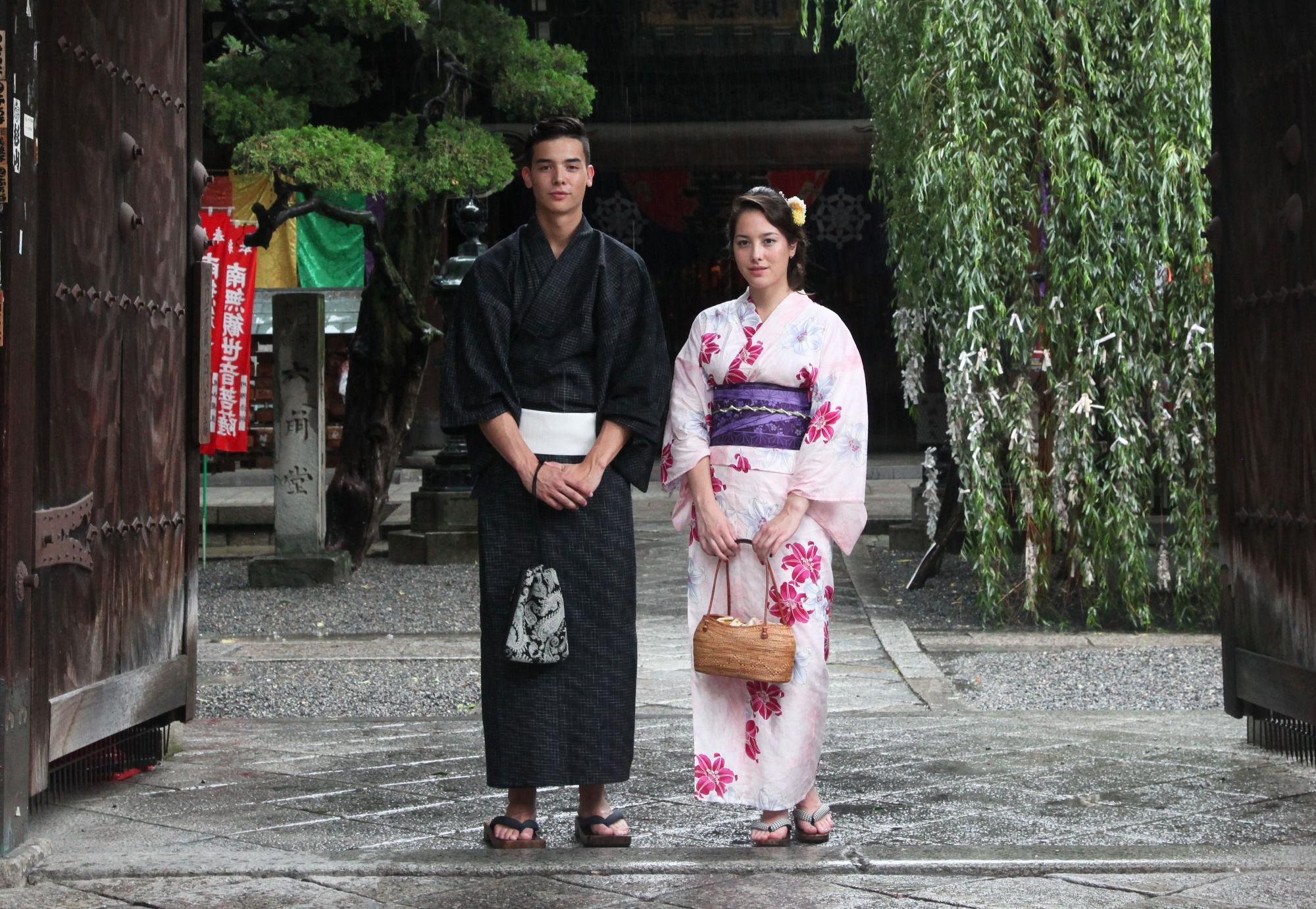 京都にはフォトジェニックなスポットがいっぱい 京の老舗呉服問屋プロデュース 京裳庵提供