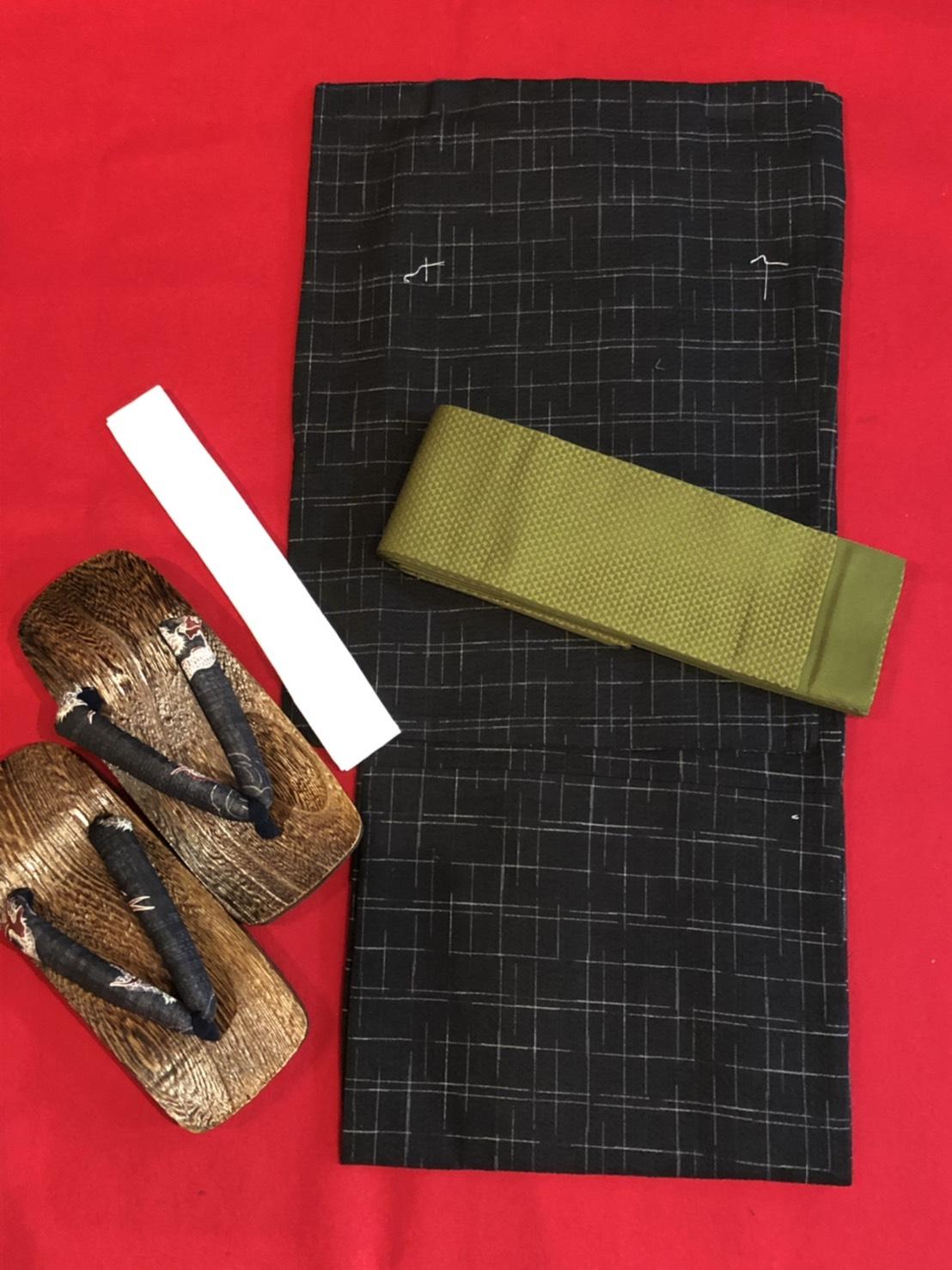 男性用もあります。京の老舗呉服問屋プロデュース 京裳庵提供