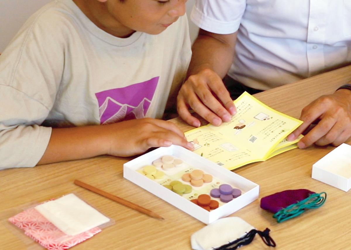 子どもたちに香りを楽しむ文化を伝えたい 株式会社 松栄堂提供