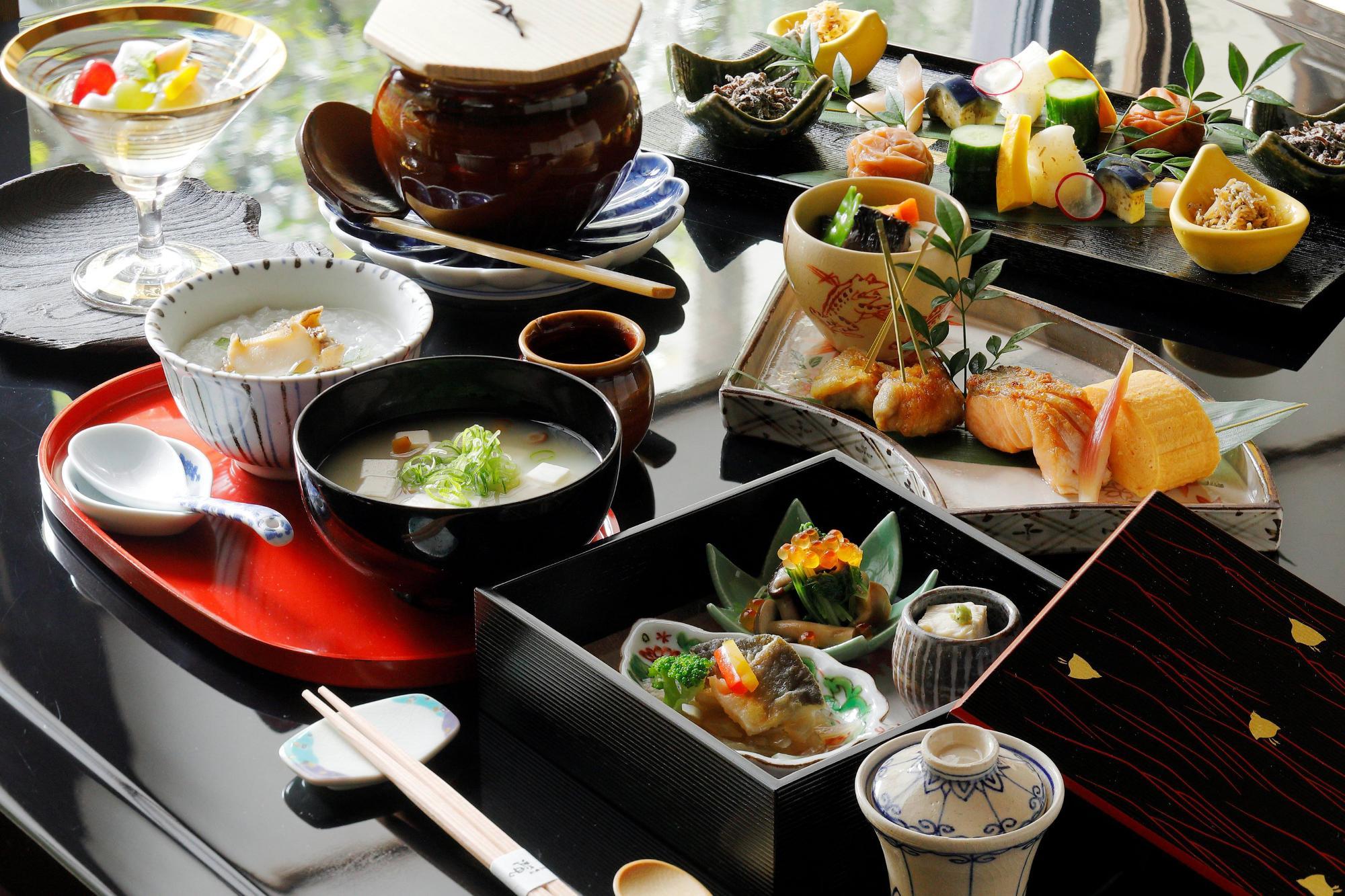 地元の食材を和洋にアレンジした特別朝食「京の朝ごはん」 京都ブライトンホテル提供