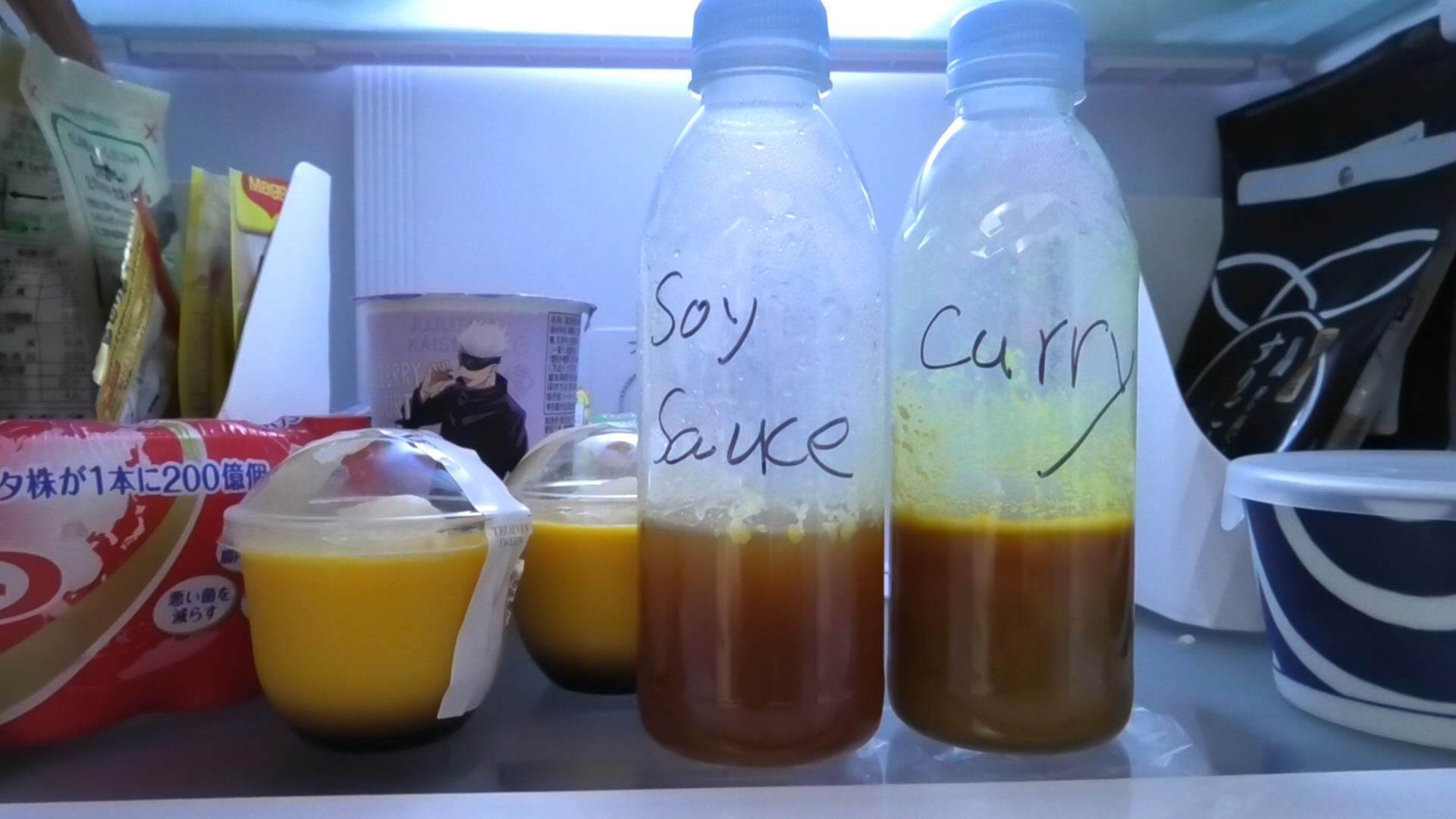 冷蔵庫で冷やします