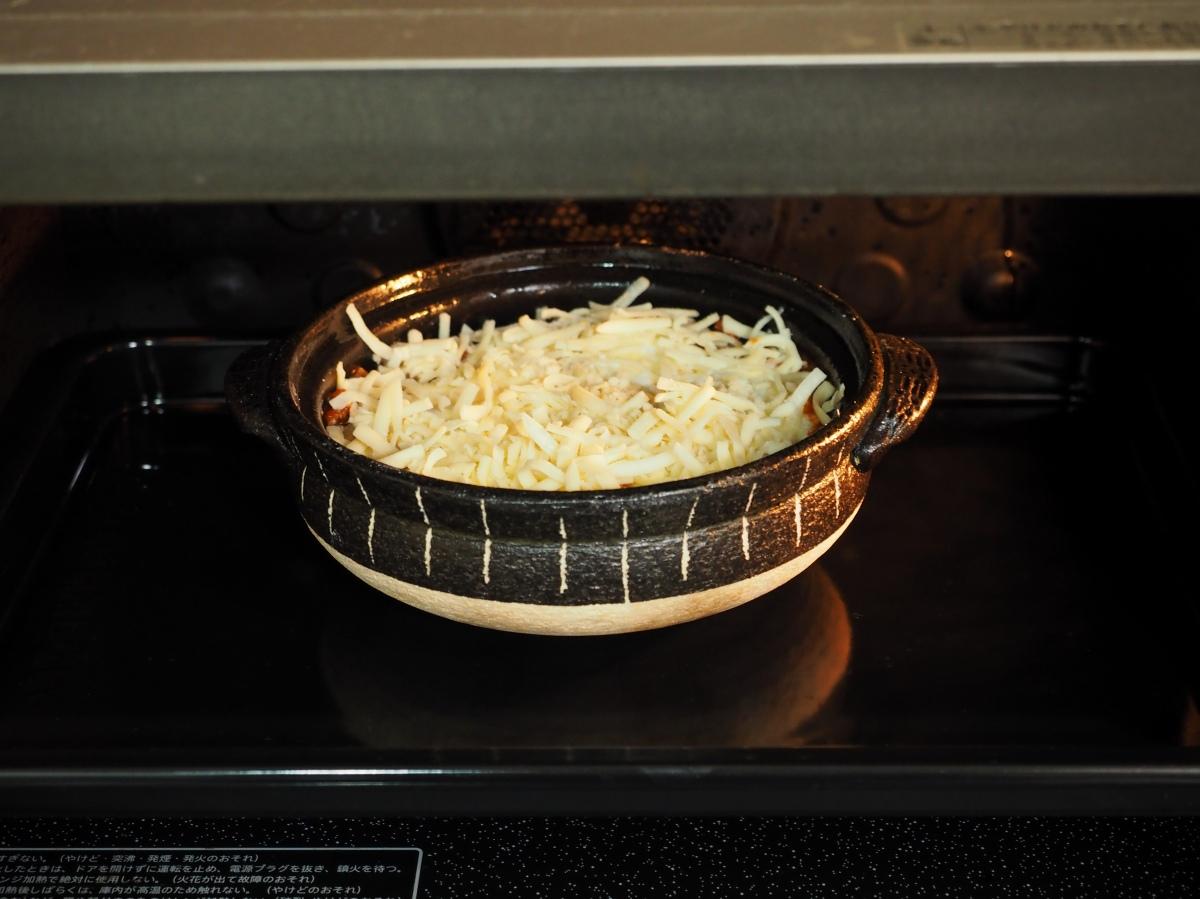 210~22度のオーブンで30分焼きます。