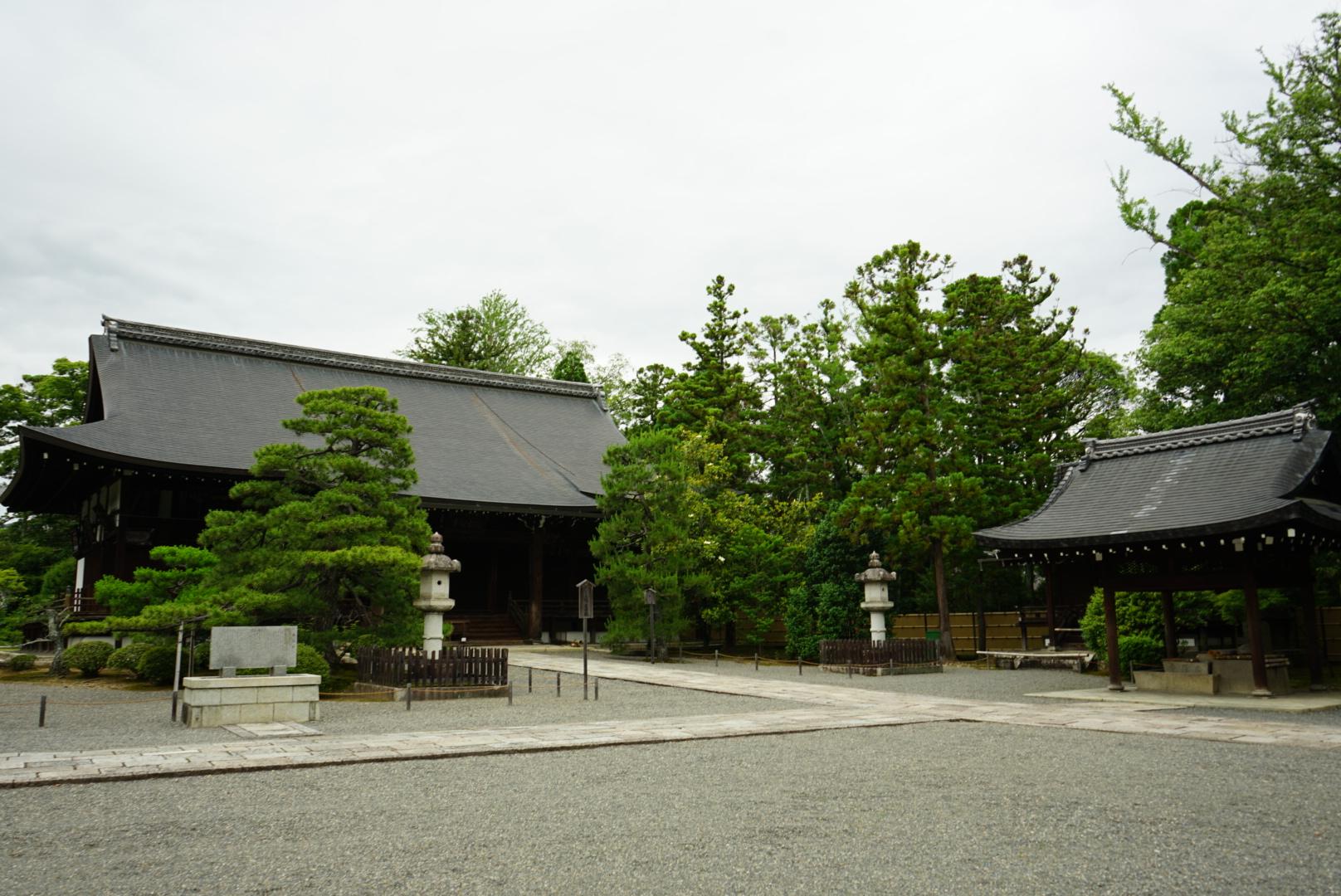 「広隆寺」上宮殿(本堂)