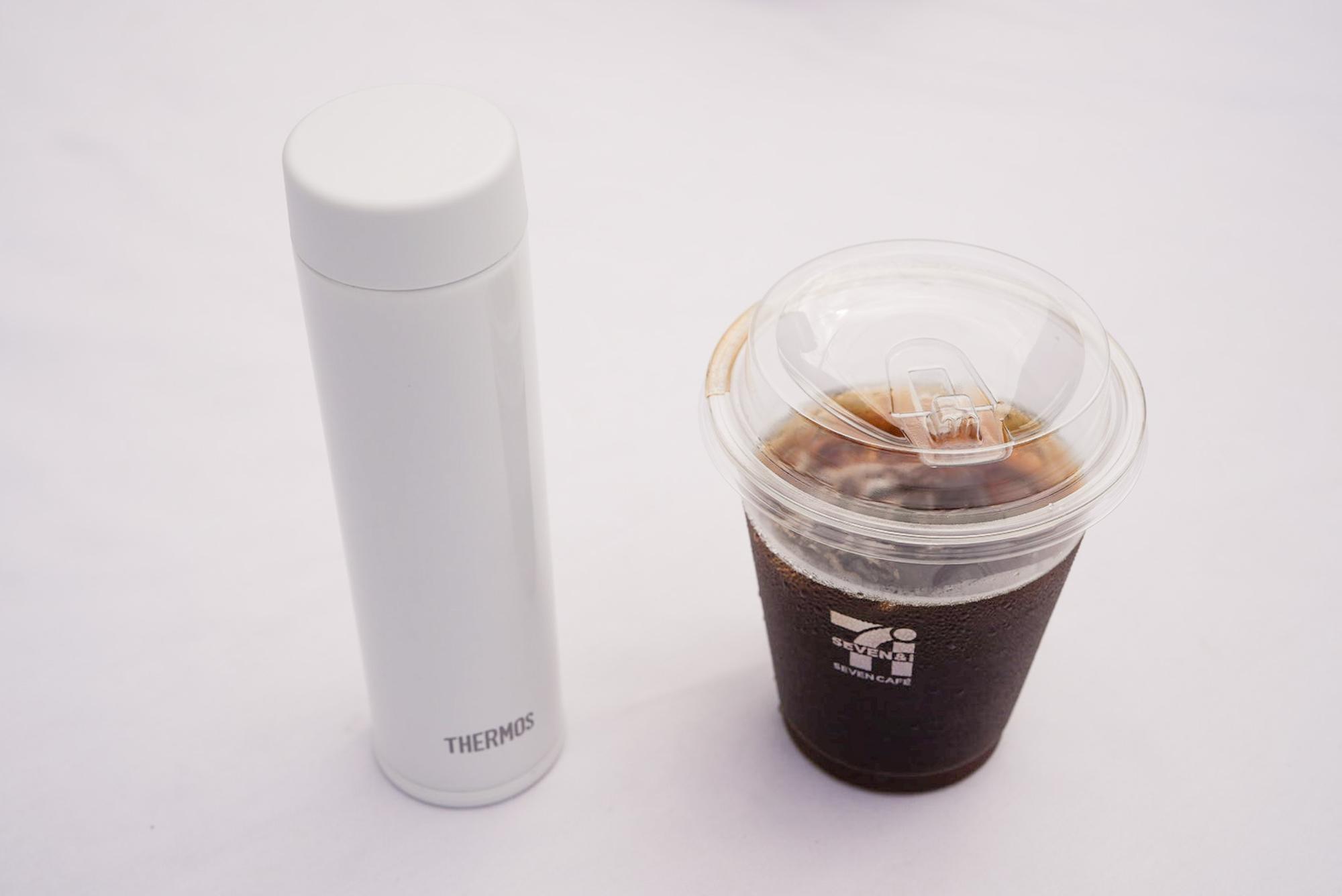 ちょうどコンビニコーヒーのSサイズが入る「JOJ-180」