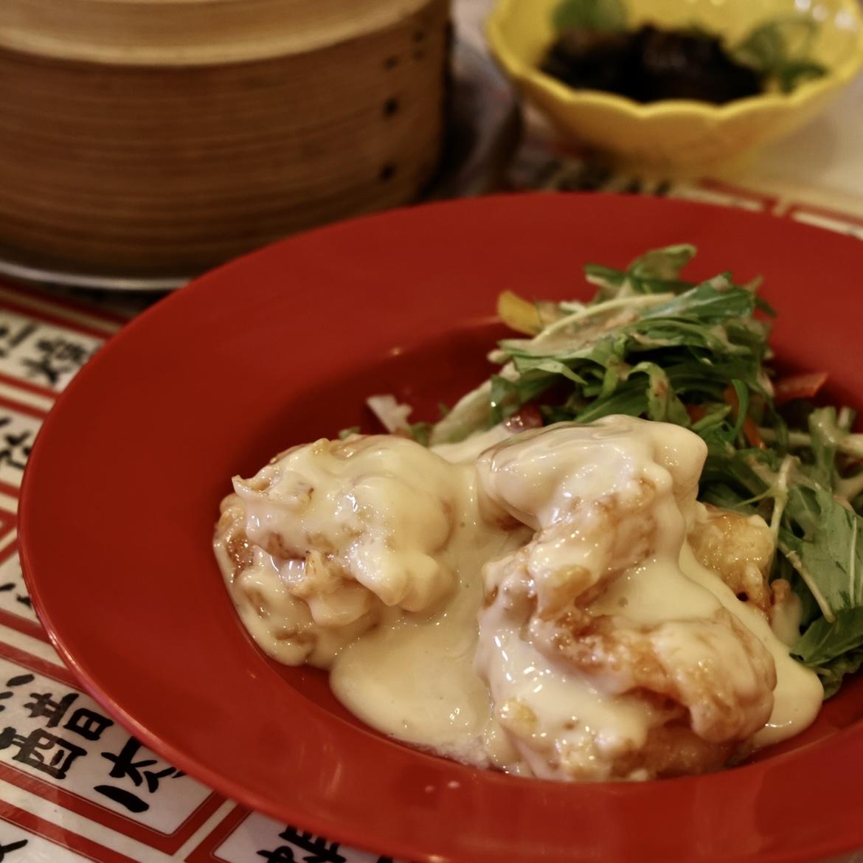 蛋黄醤蝦(タンファンジャンシャー)