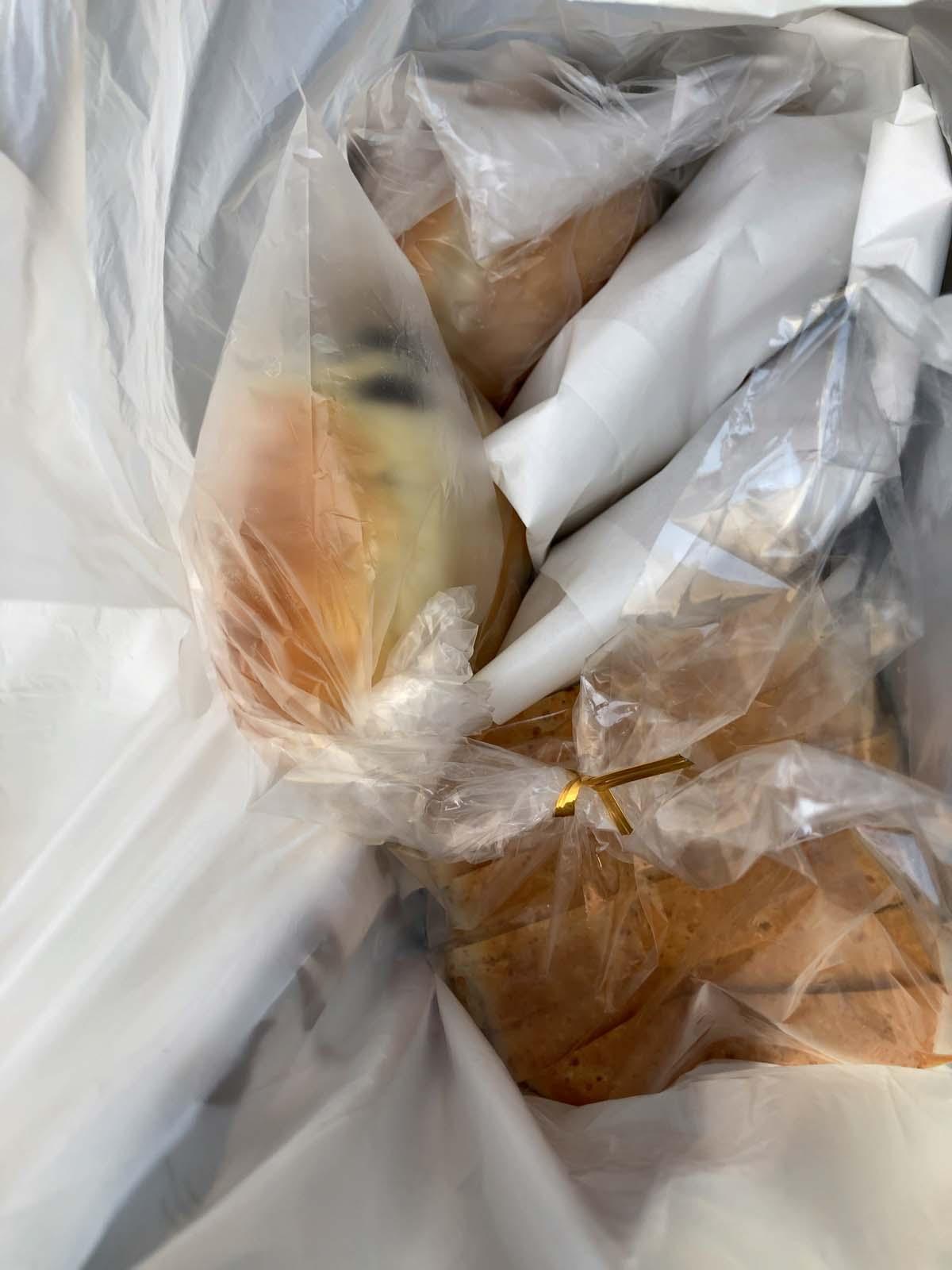 パンによって生地の風味が違います。美味しそうだったのでたくさん買っちゃいました。
