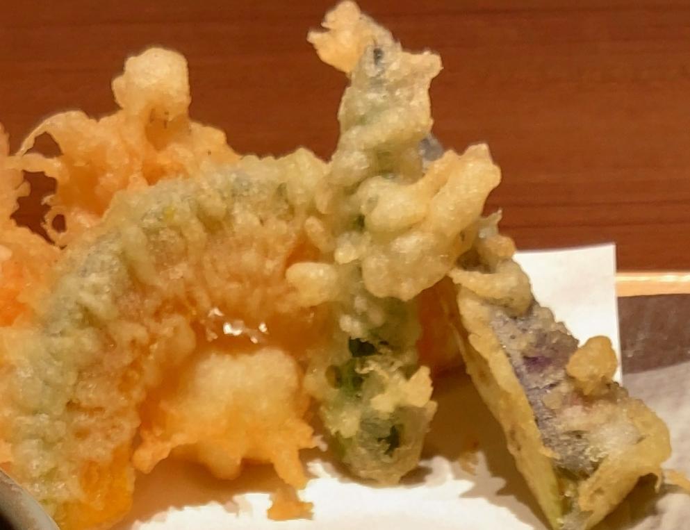 天ぷらも美味しいです