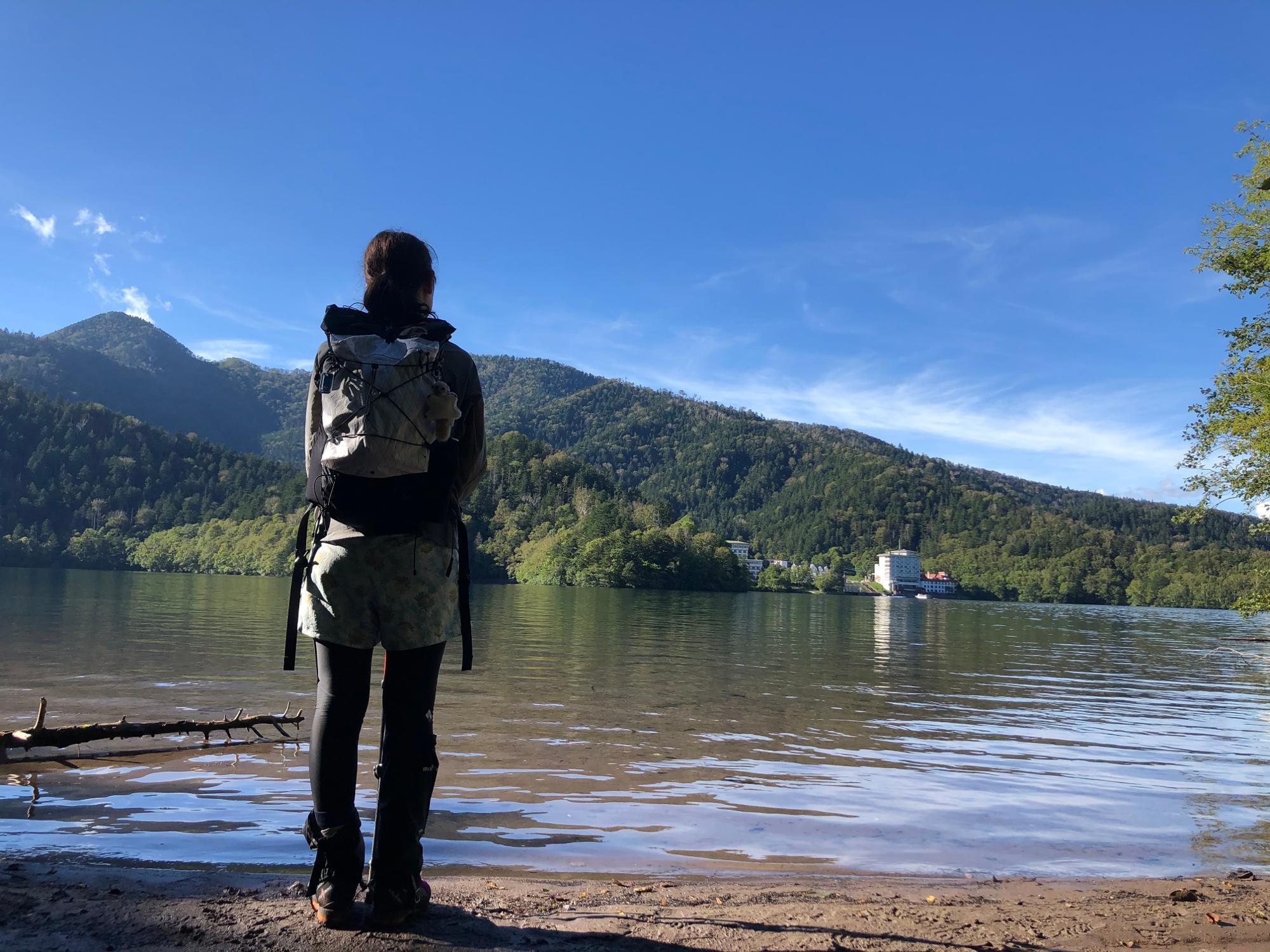 △北海道然別湖