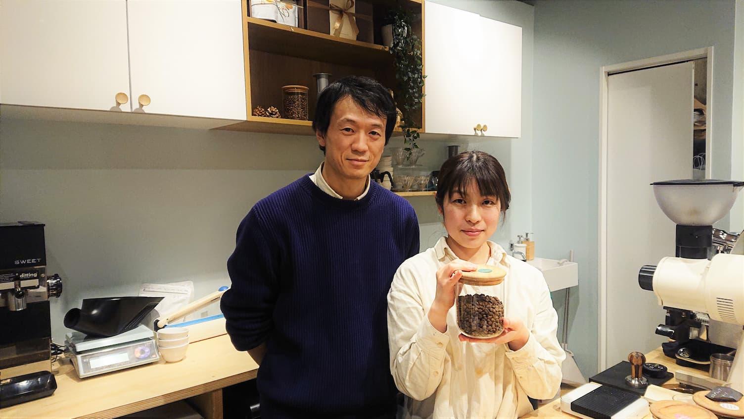 品質設計担当の亮さん(左)と代表の仁美さん(右)
