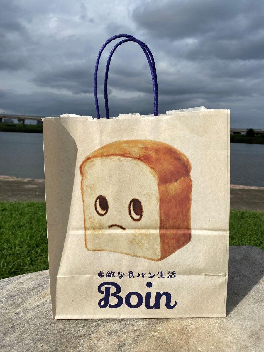食パンの紙袋にもあのイラストが!