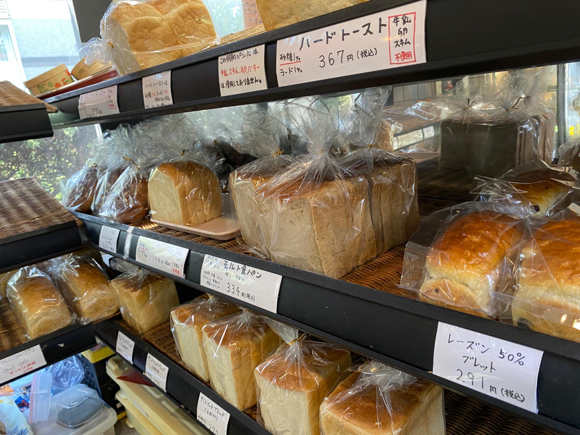 食パンだけでもたくさん!!