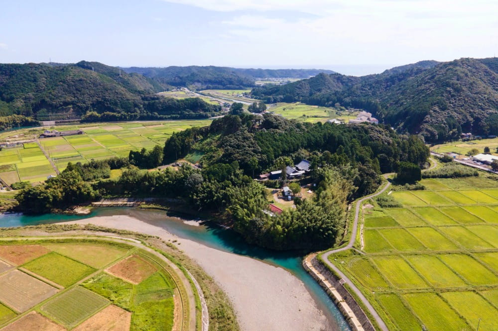 熊野古道の清らかな自然の中にあるTemple Camp大泰寺