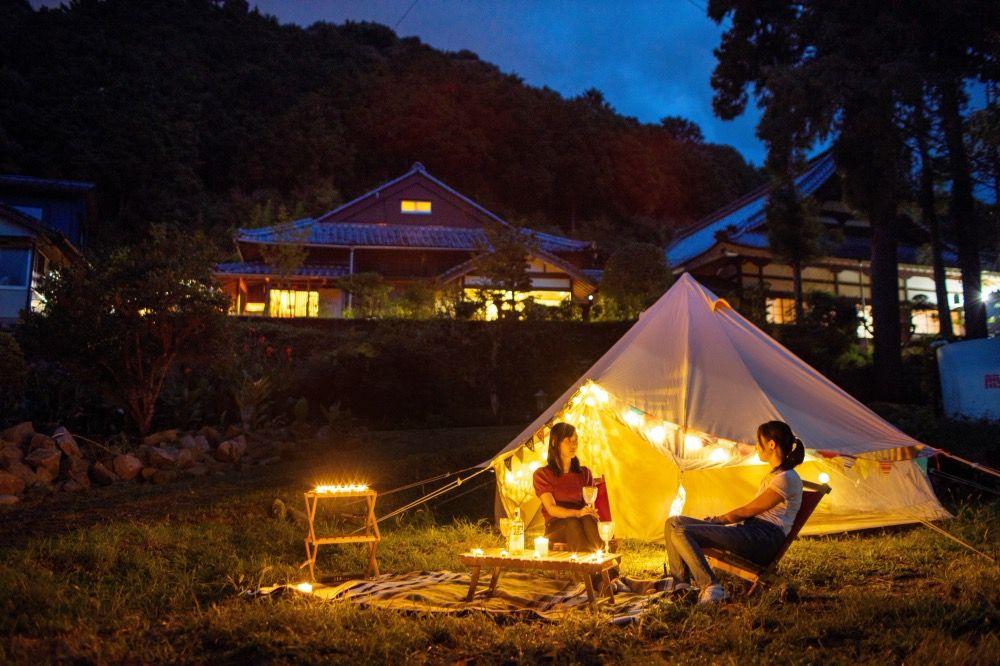 夜のTemple Camp大泰寺 公式サイトより