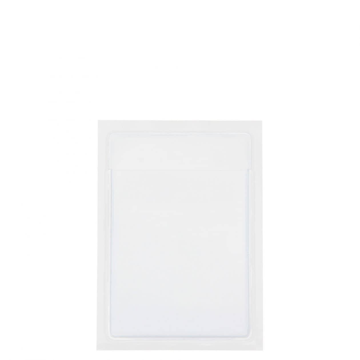 ポケットシール カードサイズ 1ポケット×2枚組消費税込120円