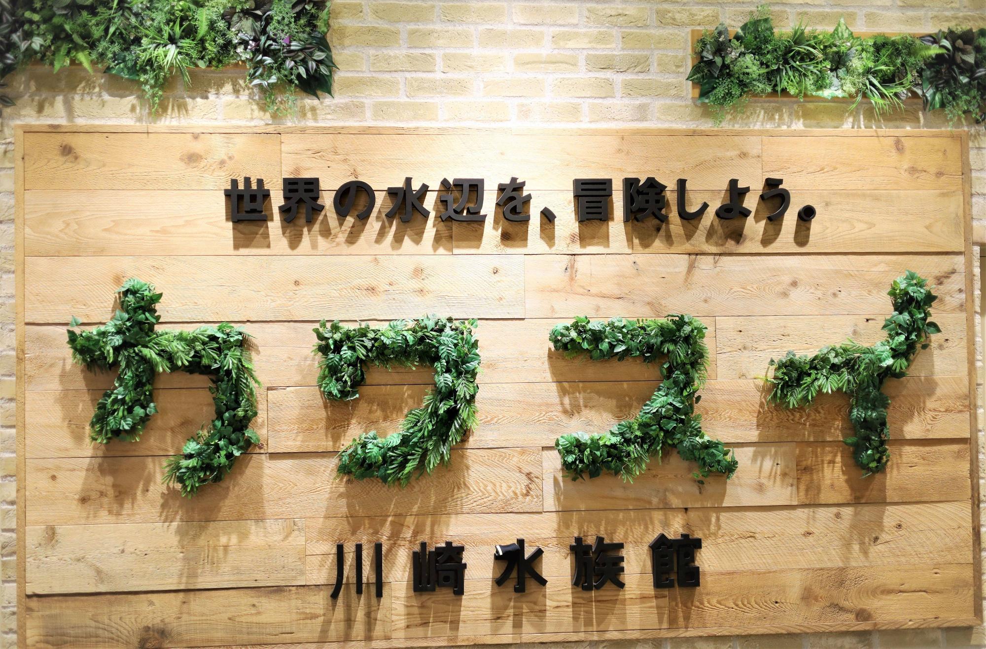 2020年7月オープン。川崎ルフロンの9F10Fにある日本初の既存商業施設内に開業した水族館 カワスイ。