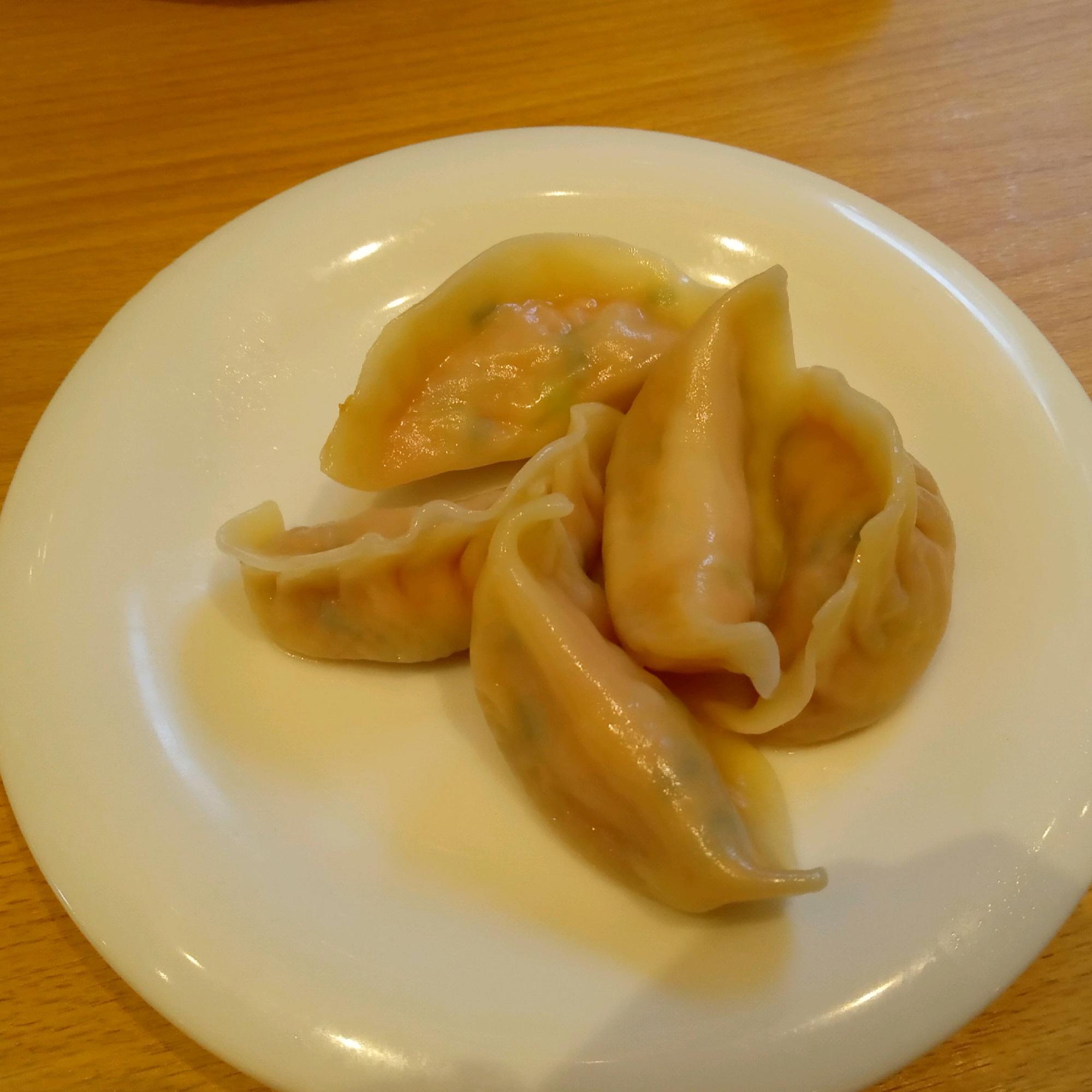 肉のうまみがしっかり感じられました。酢醤油で食べました。さっぱりとしていくつでも食べられます