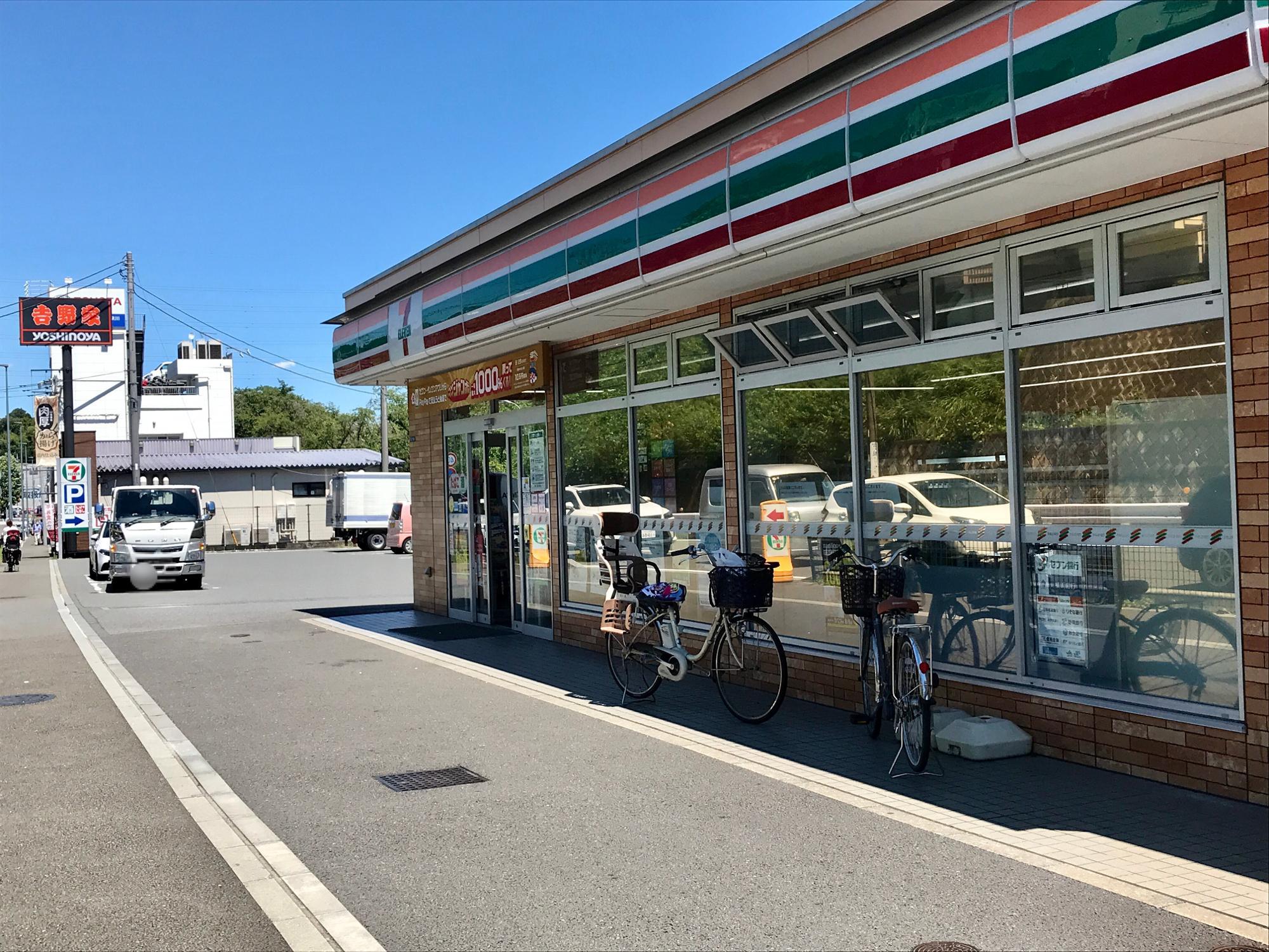 津久井道沿いのセブン-イレブンで購入可能。高津区、宮前区、中原区、多摩区、麻生区の一部の店舗で販売とのことで、川崎市全域ではない理由も気になります。