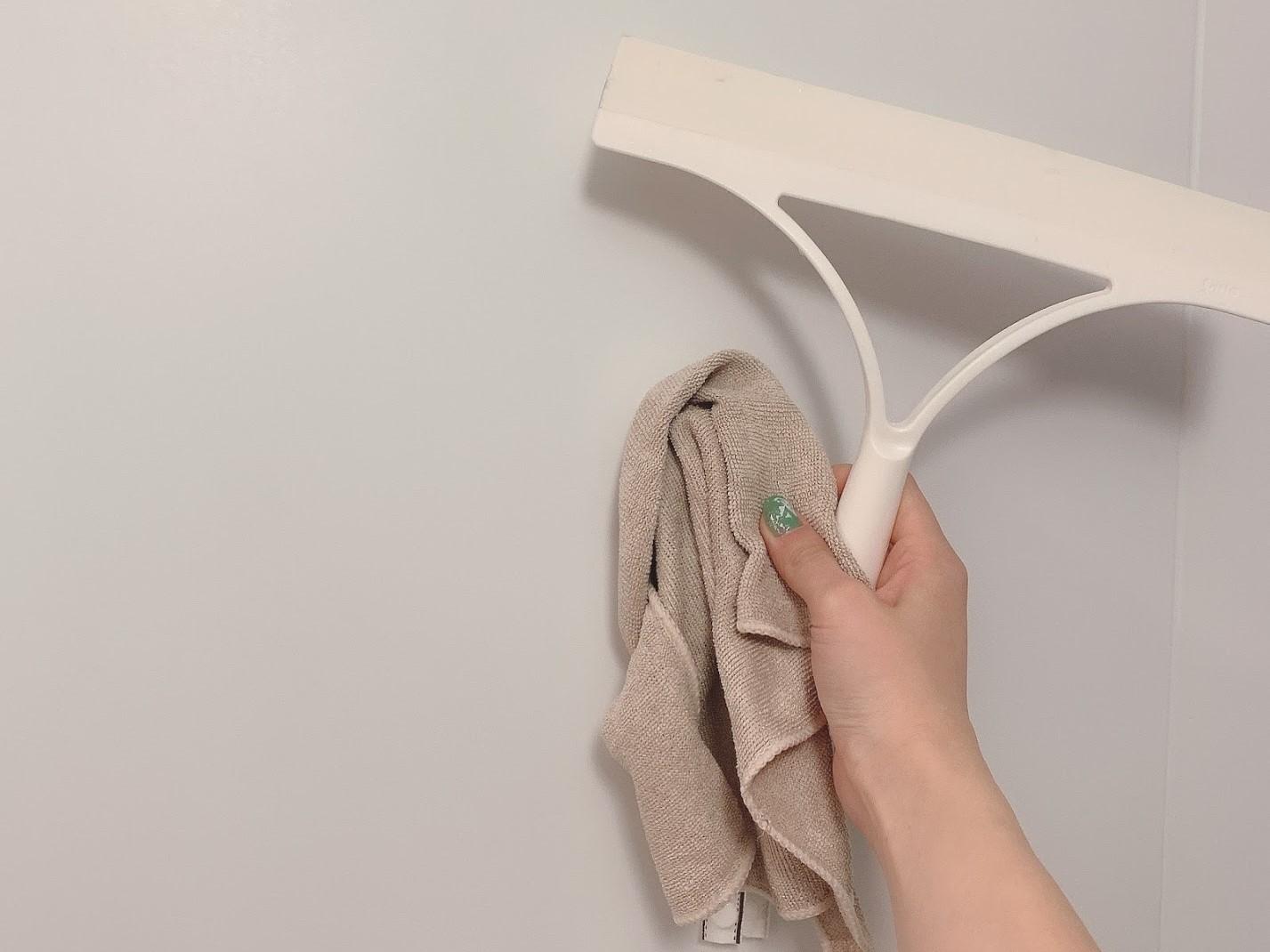 タオルはマイクロファイバータオルを使うのがおすすめ◎