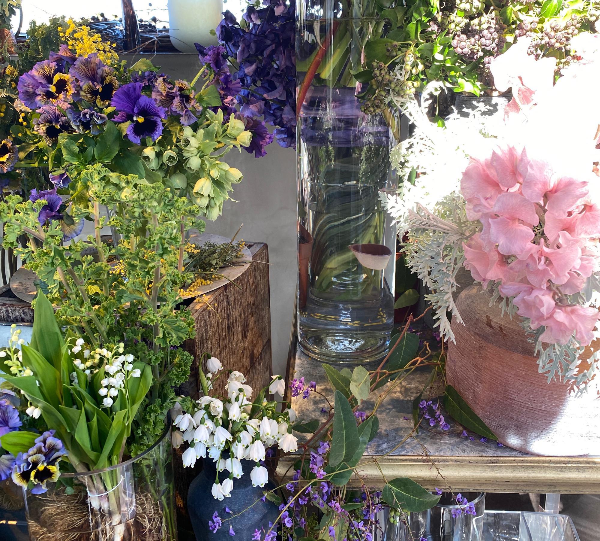 センス抜群のお花たち