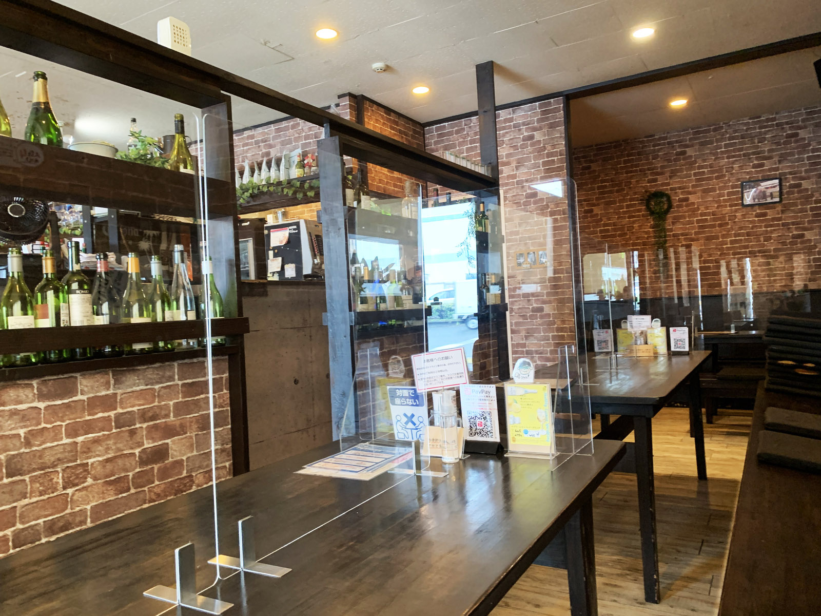 cafe dining beaubleu(ブーブル)_店内