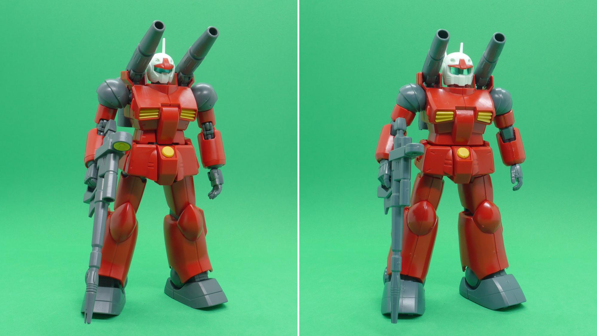 左:No.190(REVIVE版) / 右:No.001(初代)
