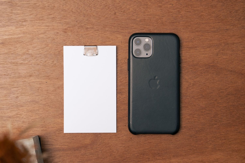 iPhone11Proと比較。