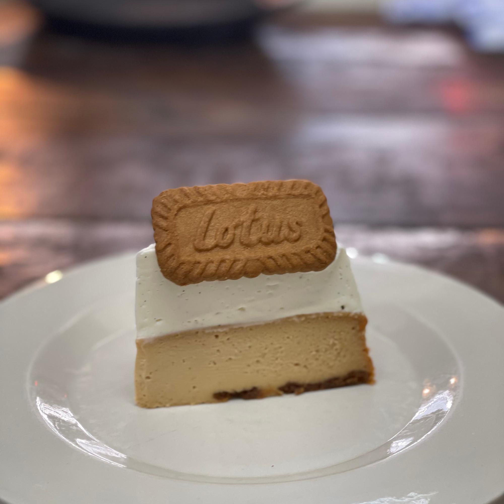 ロータスチーズケーキ650円(税込)
