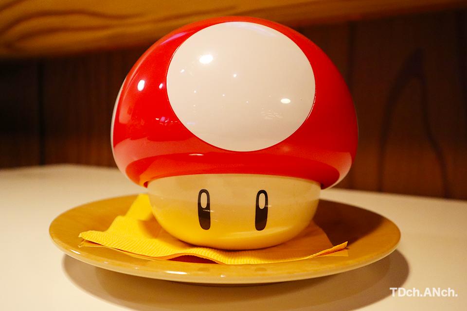 マッシュルームスープ ¥800