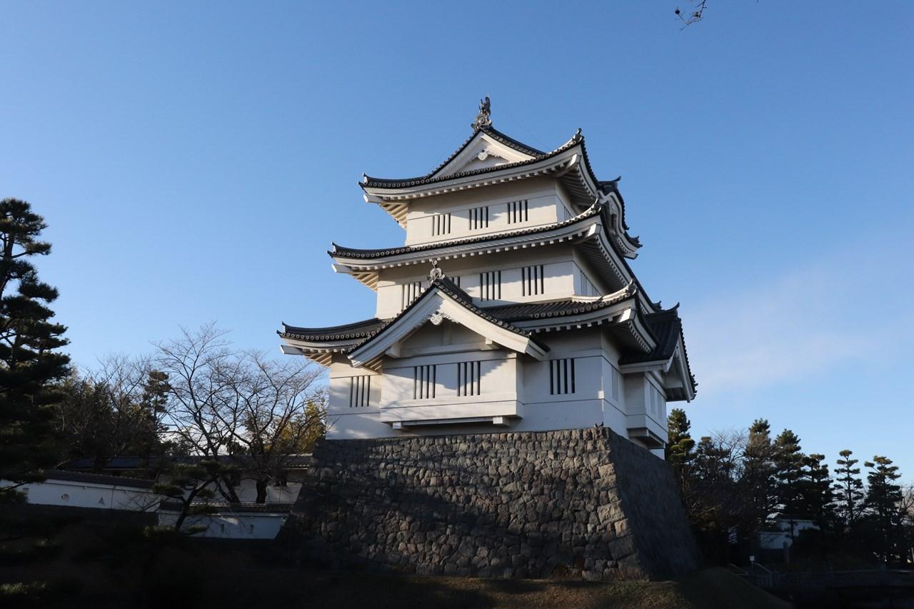 「のぼうの城」で有名になった忍城は行田のシンボルだ。