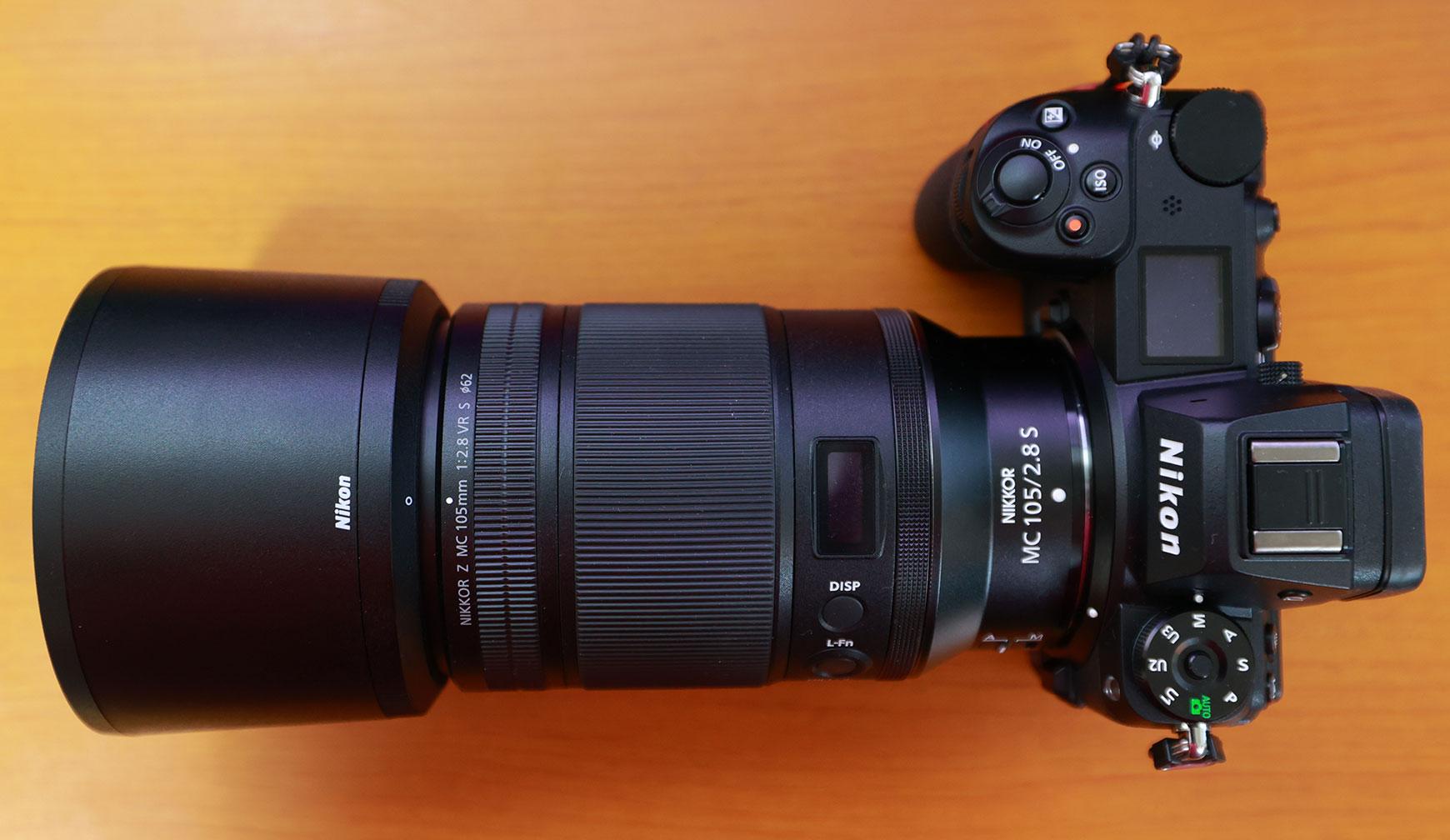 Nikon Z7Ⅱに装着した状態